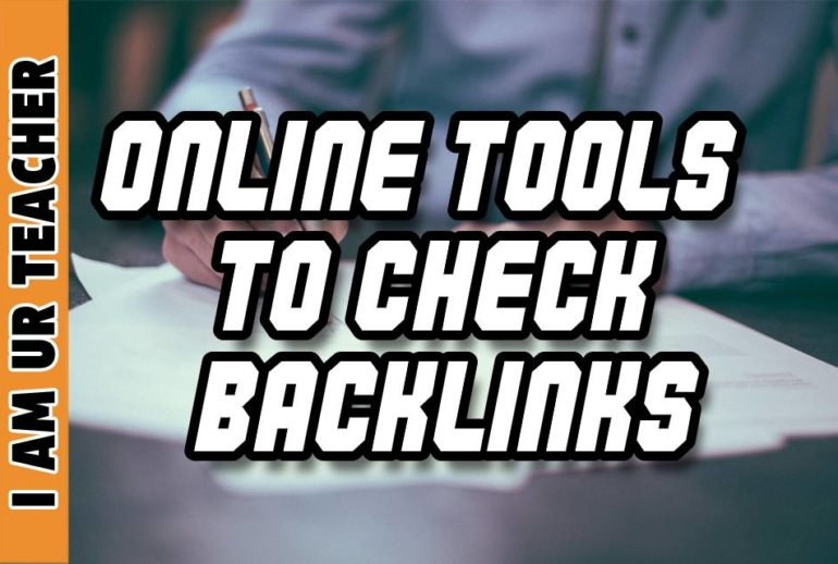 online tools to check backlinks