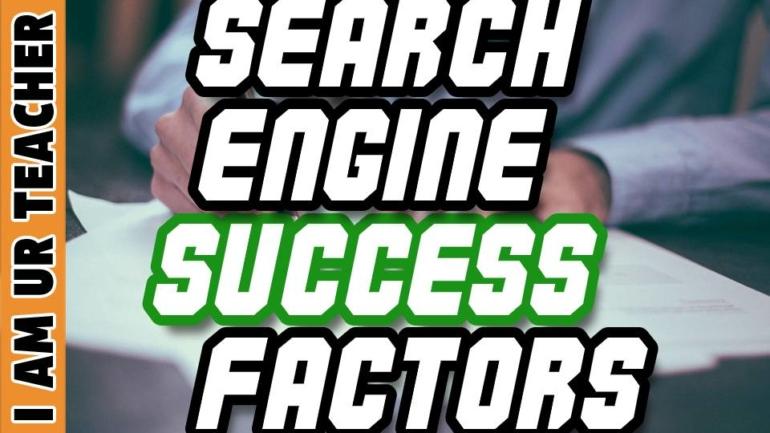 search engine success factors