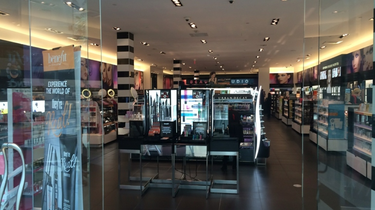 Cosmetic Store Front