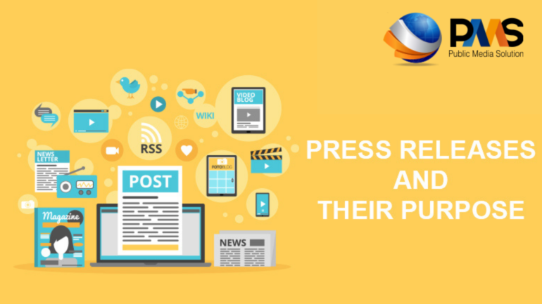 press release and their purpose