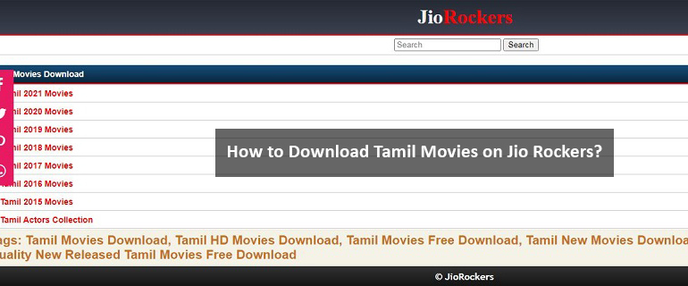 How to Download Tamil Movies on Jio Rockers