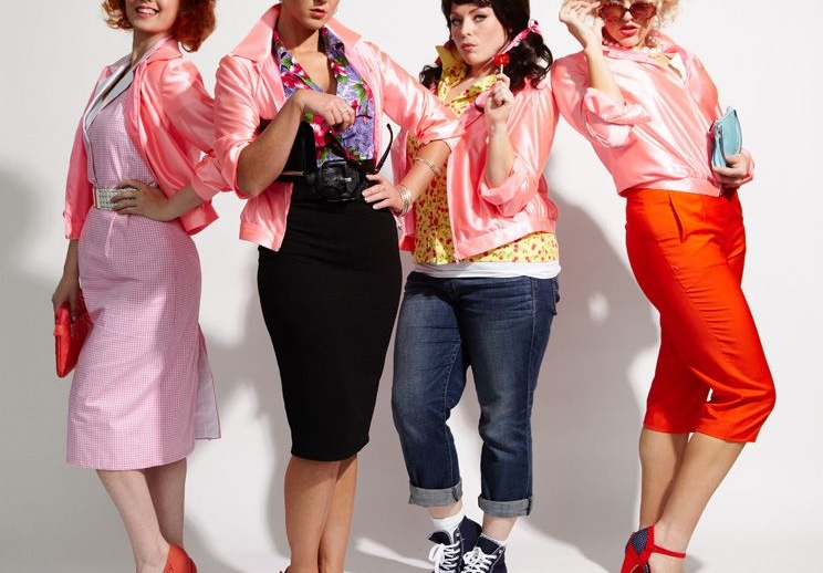 Member of The Gang Of Girls Called The Pink Ladies