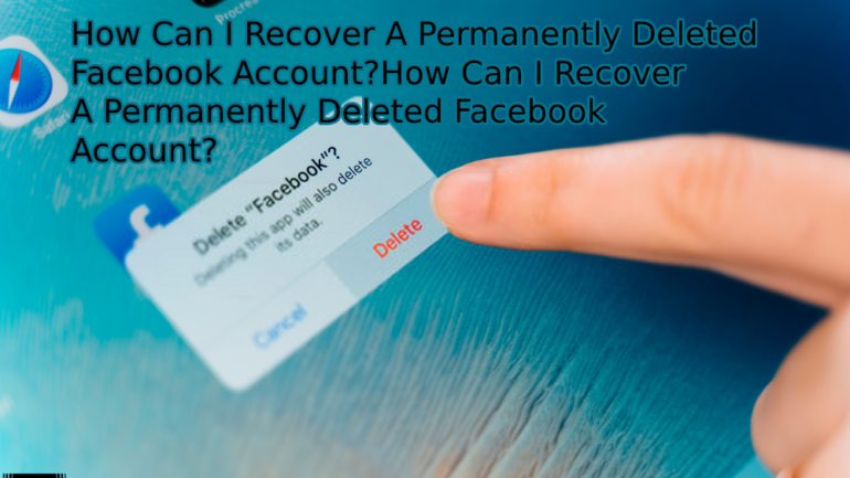 Deleted Facebook account