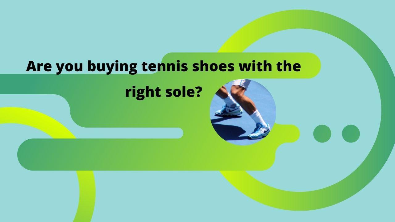 tennis shoe sole
