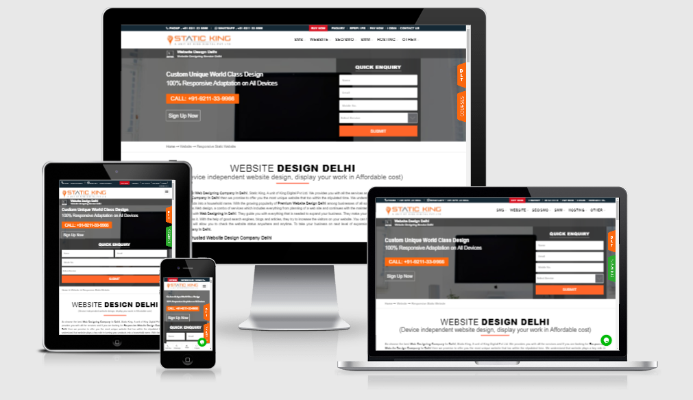 website designing companies in Delhi