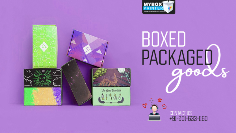 Boxed Packaged Goods